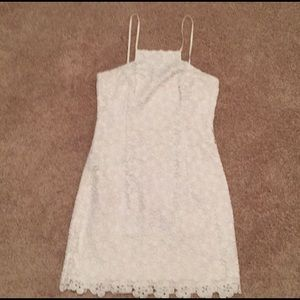 Lilly Pulitzer white floral dress size 2